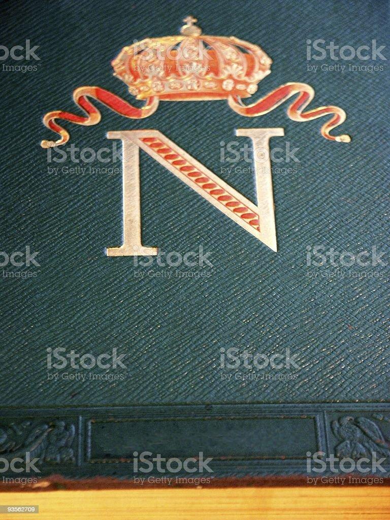 Napoleon's symbol stock photo
