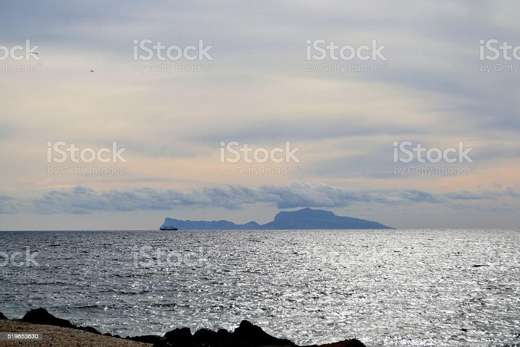 Napoli, Campi flegrei stock photo
