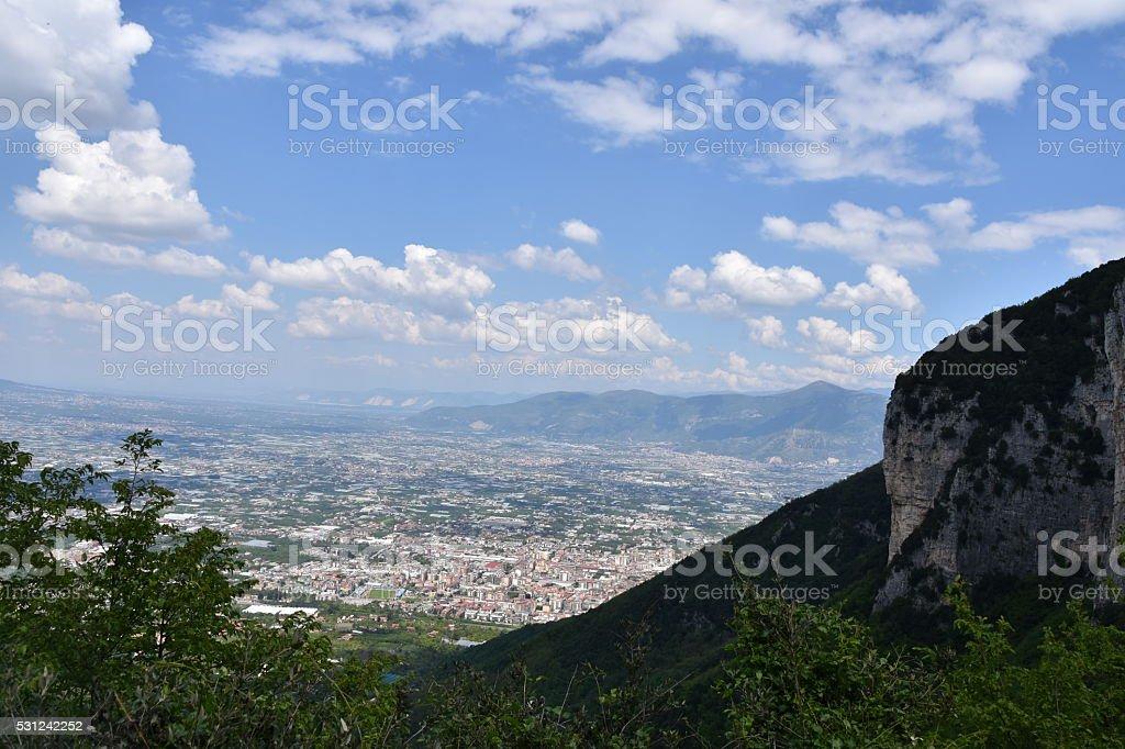 Napoli Landscape stock photo