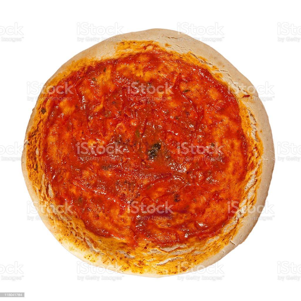 napoliten pizza stock photo