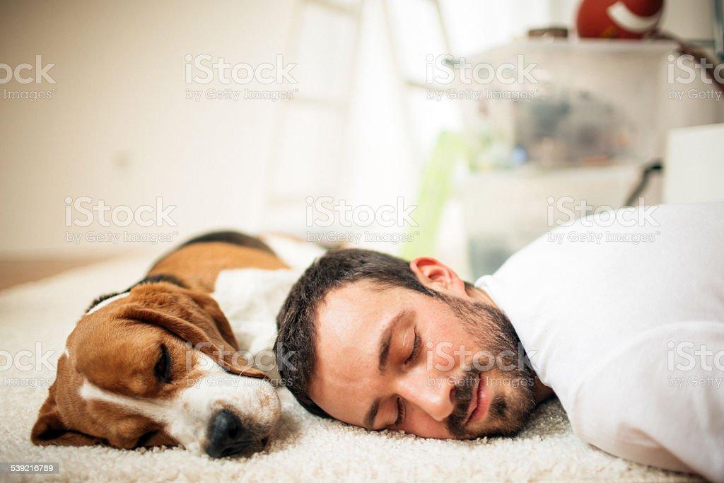 Napping stock photo