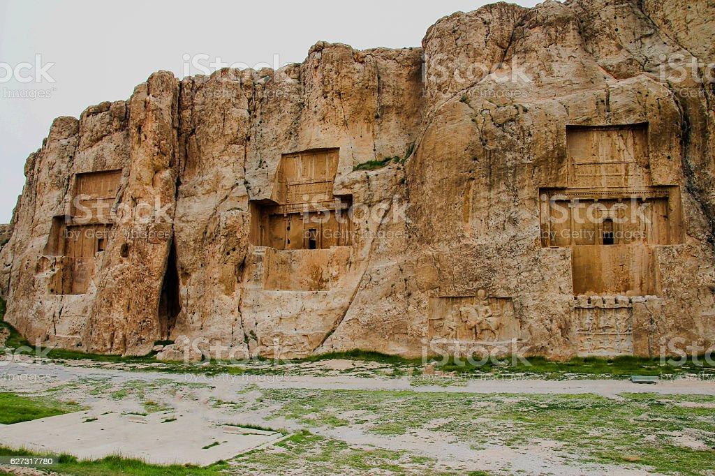 Naqsh-e Rustam, Necropolis, Iran stock photo