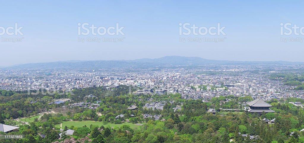 Nara Cityscape stock photo