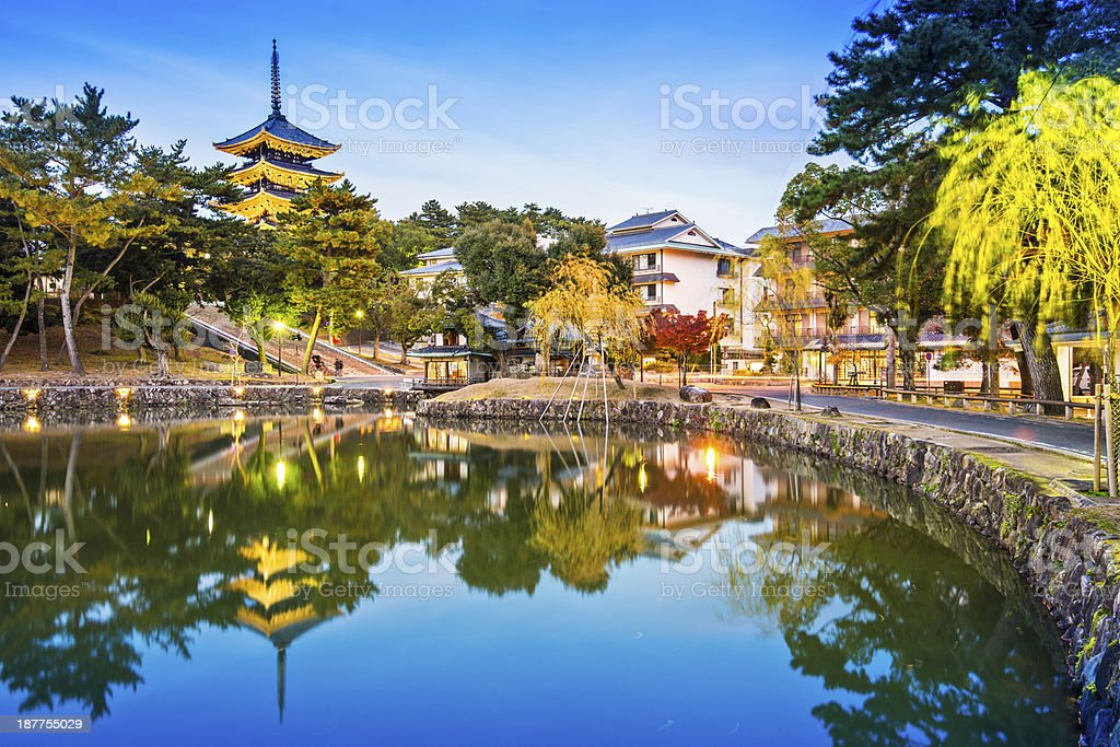 Nara, Japan stock photo