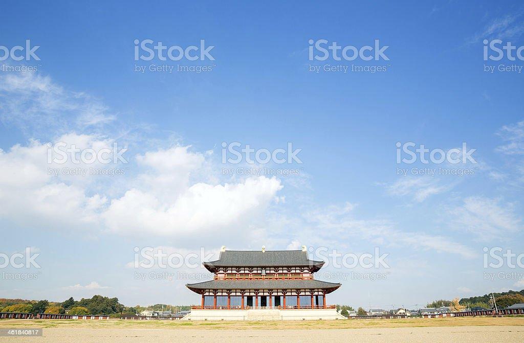 Nara Palace Japan stock photo