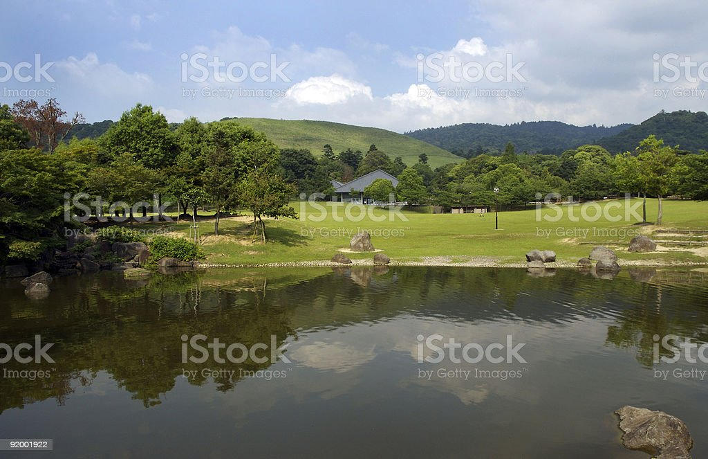 Nara Park stock photo