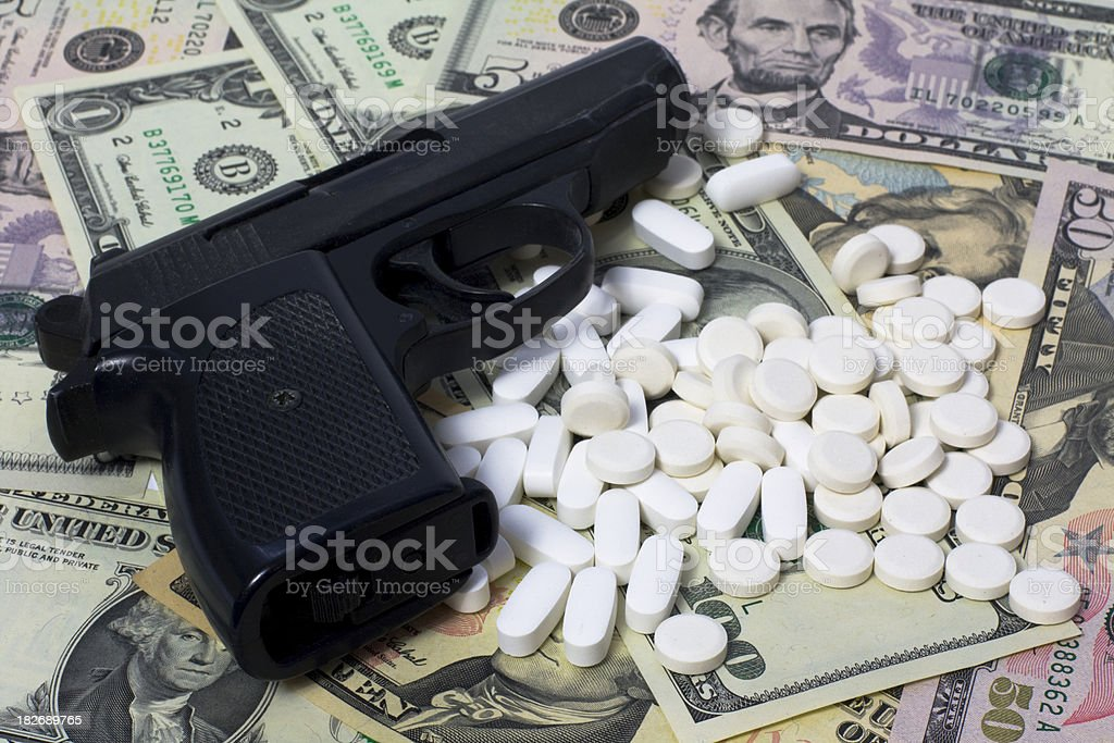 Narcotic business stock photo