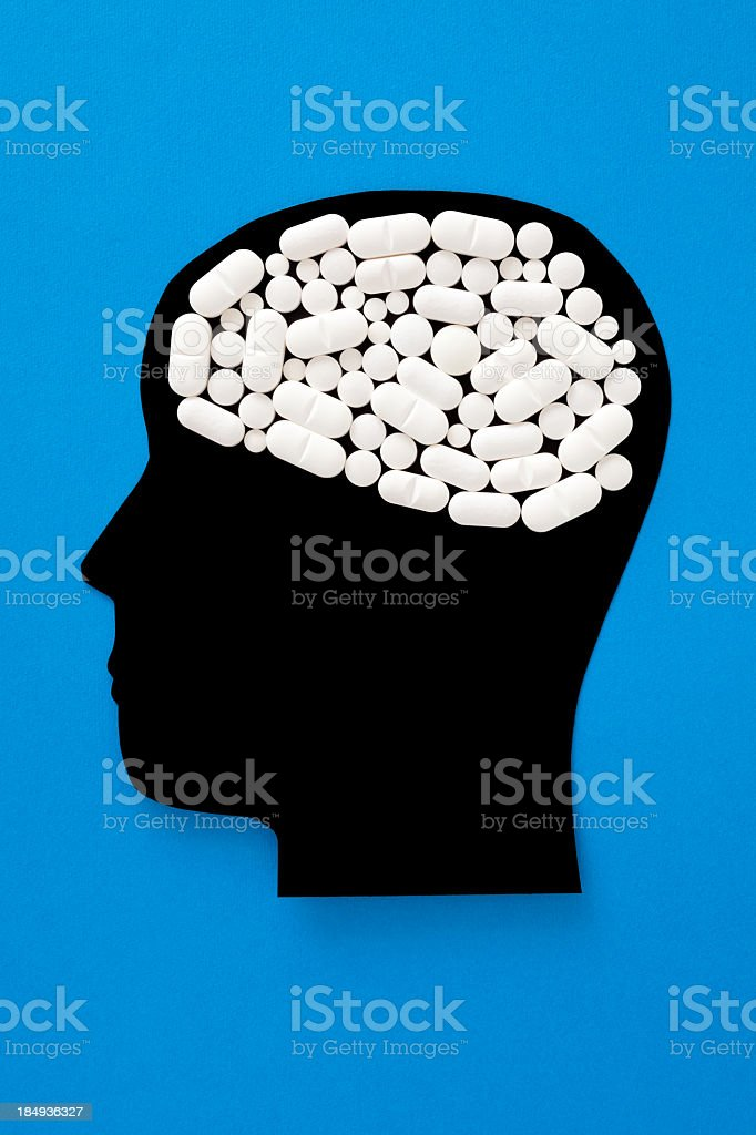 Narcotic thoughts royalty-free stock photo