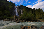 Nardis Waterfall in Alps