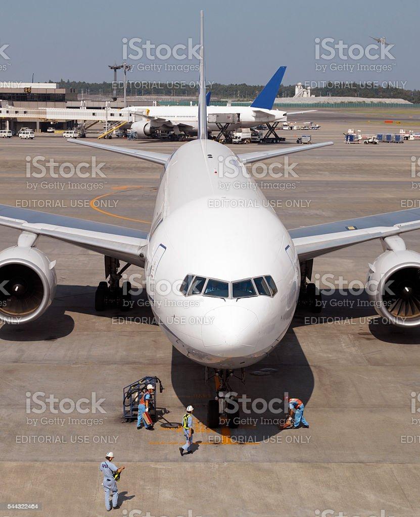 Narita International Airport -Tokyo - Japan stock photo