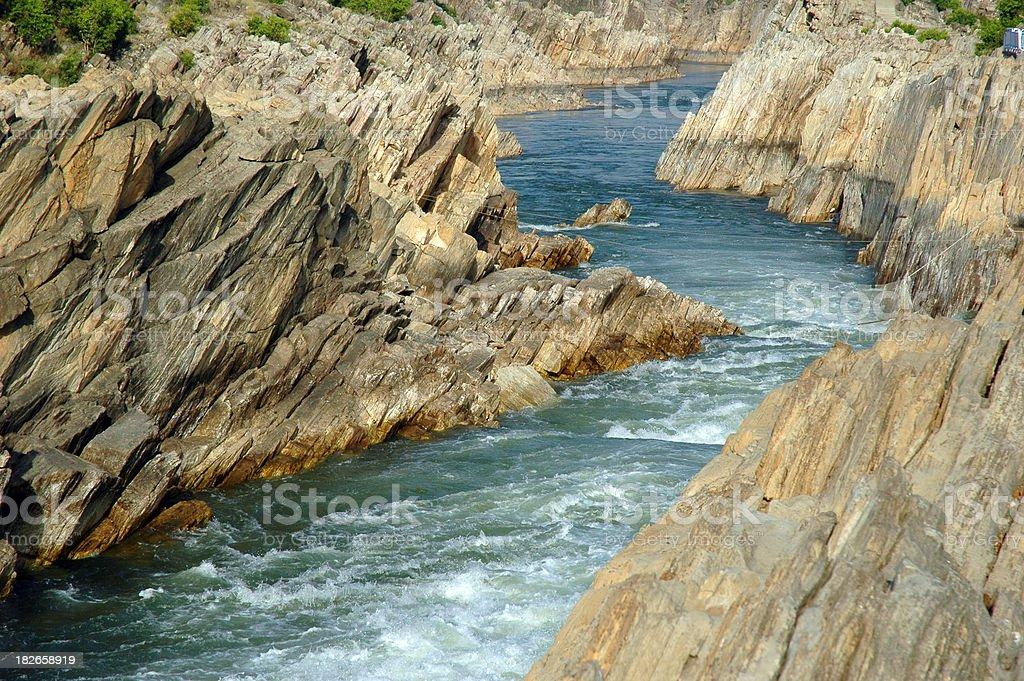 Narmada River, India stock photo