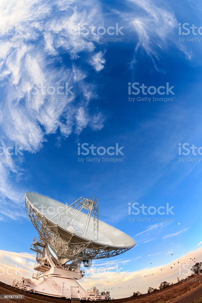 Narrabri Radio Telescope stock photo