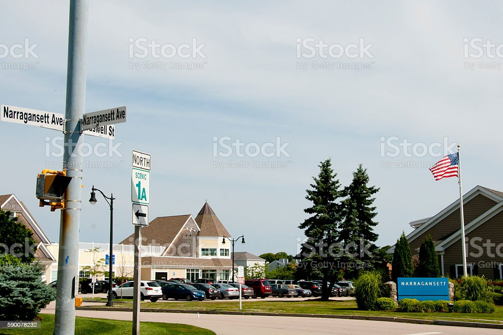 Narragansett - Rhode Island stock photo