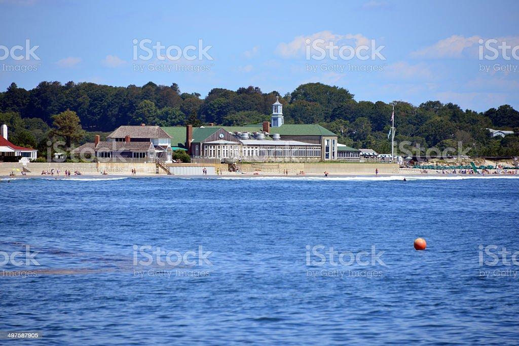 Narragansett Town Beach, RI, USA stock photo