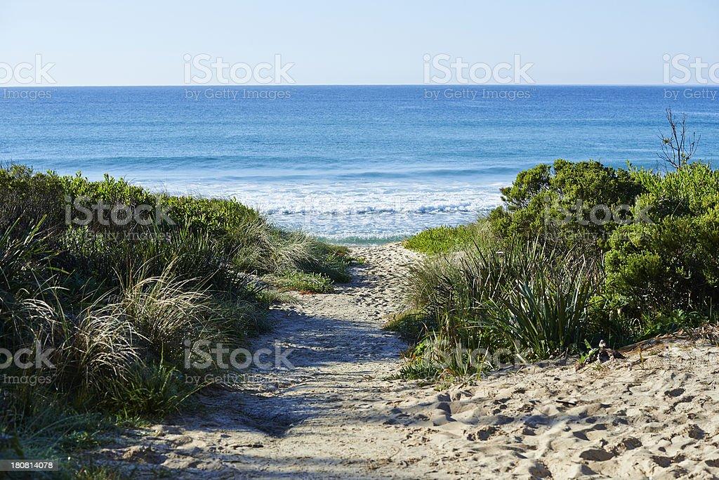 Narrawallee Beach royalty-free stock photo