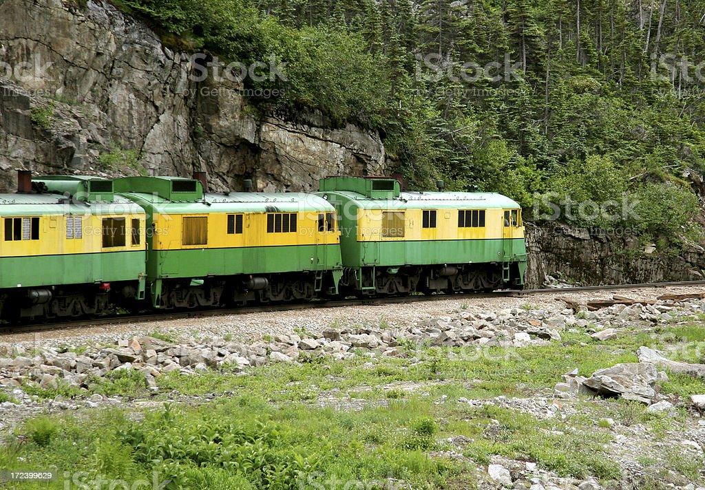 Narrow Gauge Train stock photo