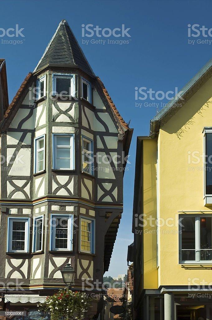 Narrow House stock photo