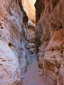 Narrow Slot Canyon, White Domes Hiking Trail, Valley of Fire