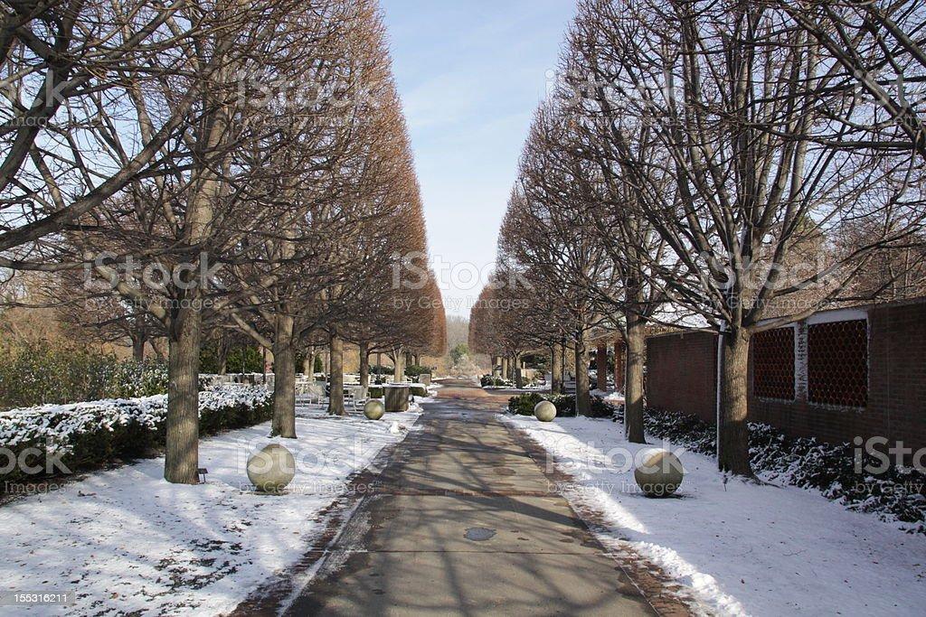 Narrowing Symmetry royalty-free stock photo