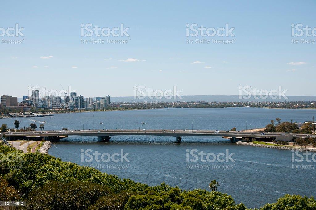 Narrows Bridge - Perth - Australia stock photo
