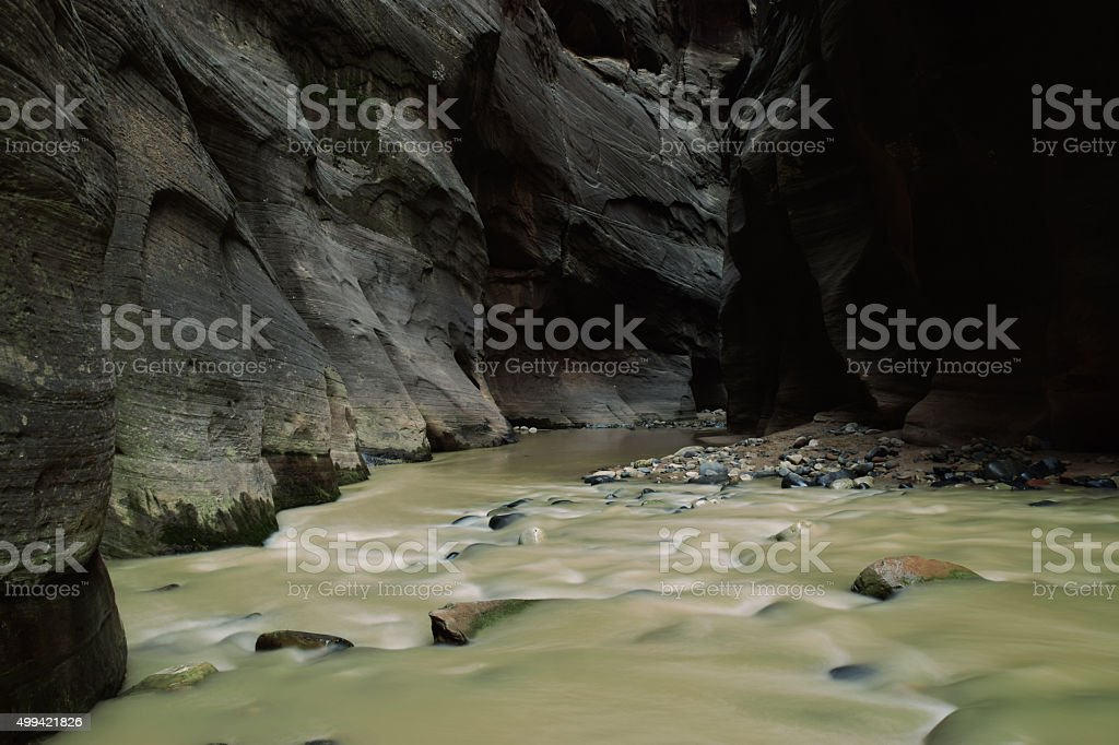 narrows small rapids stock photo