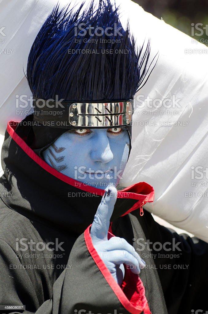 Naruto's Kisame stock photo