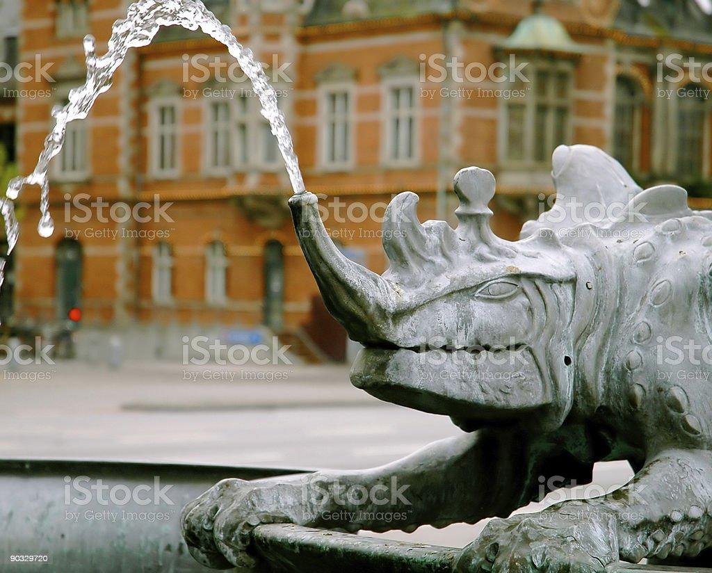 Nasal Fountain stock photo