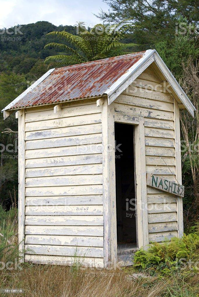 Nashi Food Stall, New Zealand royalty-free stock photo