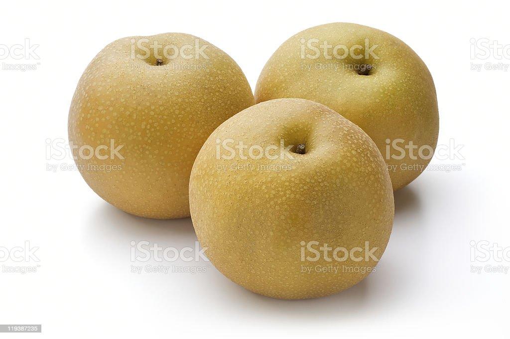 nashi pear royalty-free stock photo