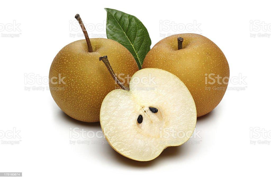 Nashi pear stock photo