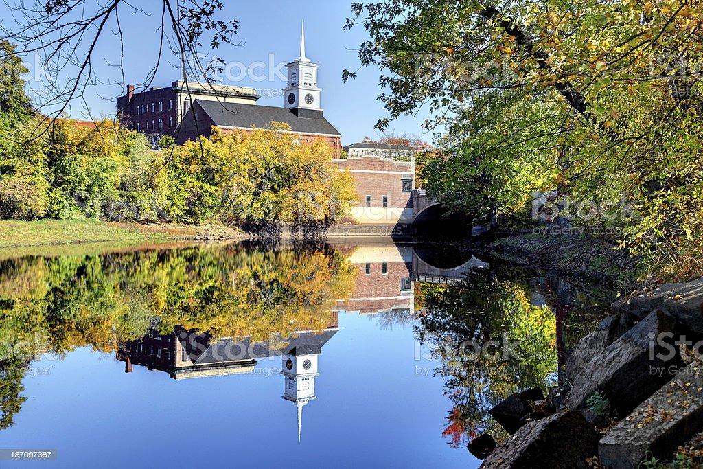 Nashua, New Hampshire stock photo
