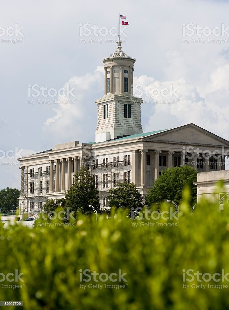 Nashville Capitol royalty-free stock photo