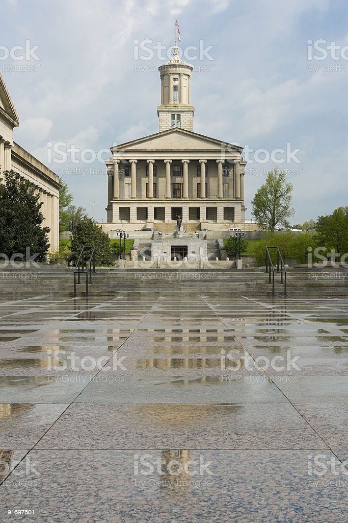 Nashville Capitol, Tennessee royalty-free stock photo