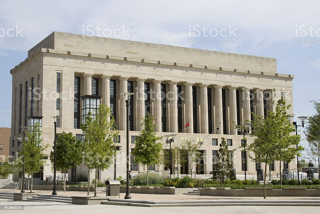 Nashville City Hall, Tennessee royalty-free stock photo
