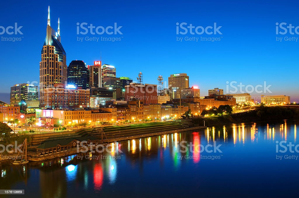 Nashville Skyline / Cityscape stock photo