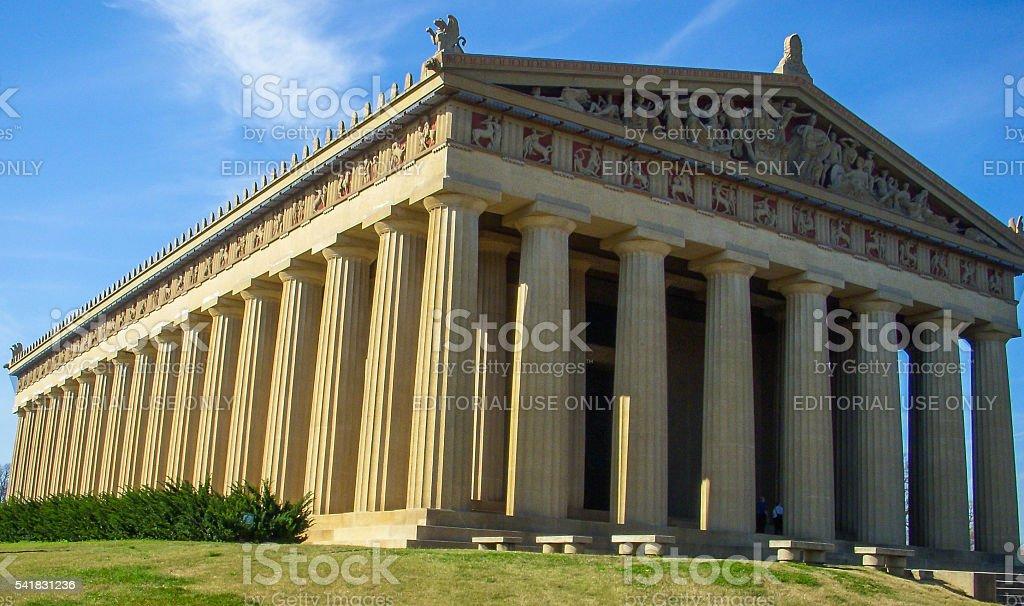 Nashville, Tennessee - Parthenon stock photo