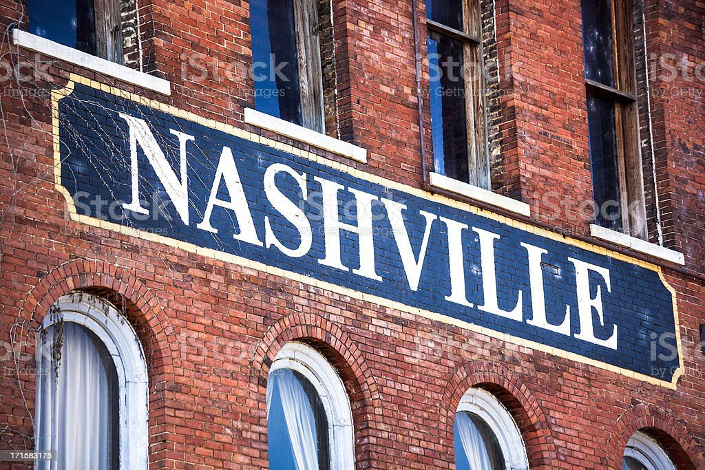 Nashville, Tennessee royalty-free stock photo