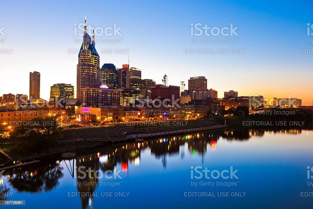 Nashville, Tennessee, USA stock photo