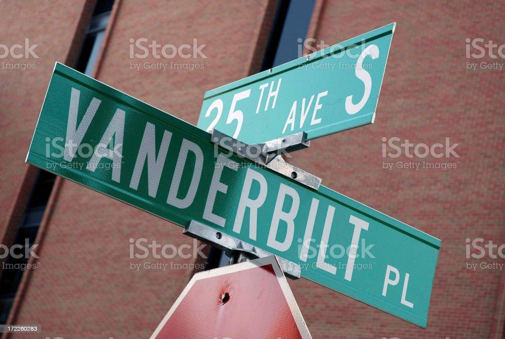 Nashville - Vanderbilt University stock photo