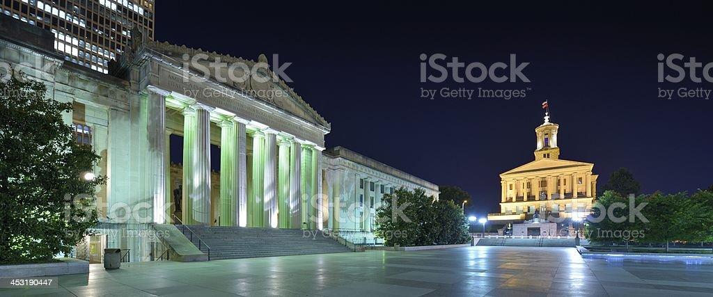 Nashville War Memorial Auditorium royalty-free stock photo