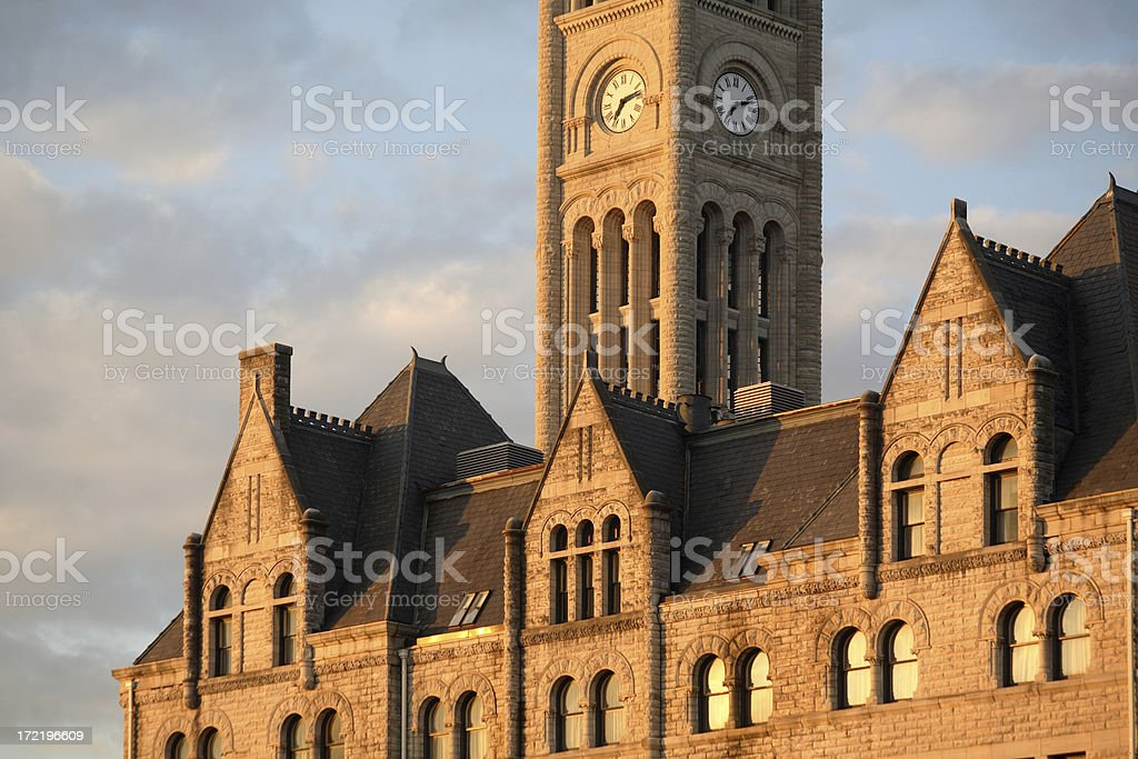 Nashville's Union Station royalty-free stock photo