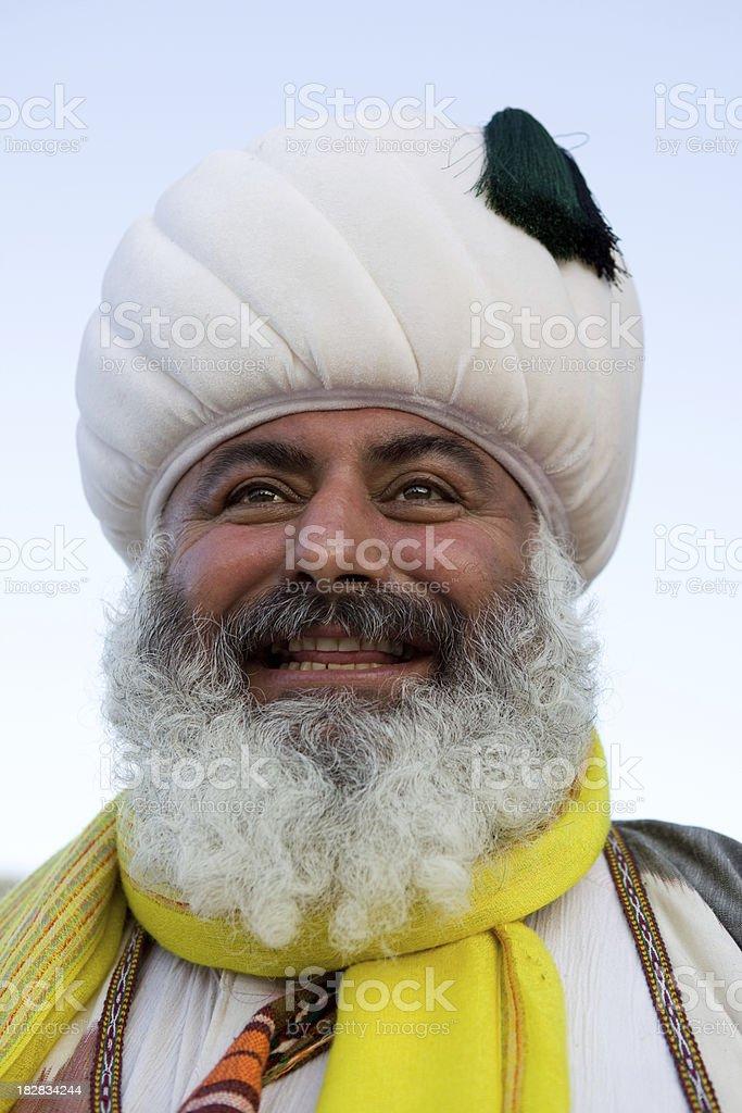 Nasreddin Hodja Portrait stock photo