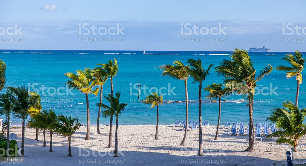 Nassau, Bahamas - Morning stock photo