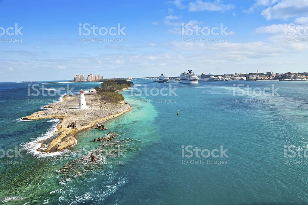 Nassau, Bahamas stock photo