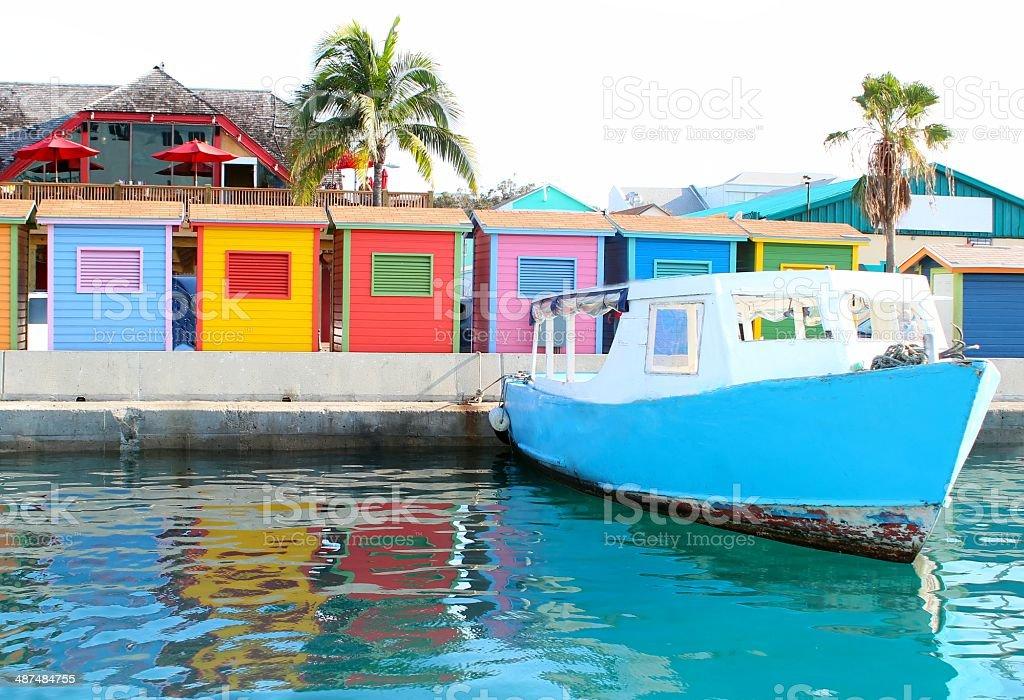 Nassau Bahamas Waterfront stock photo