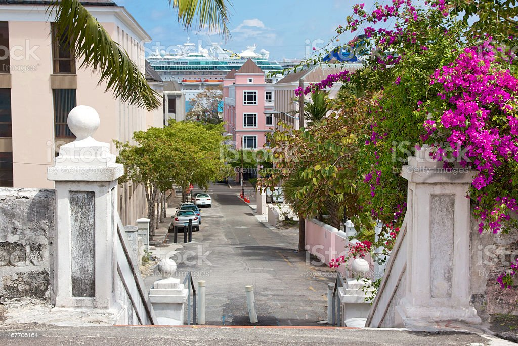 Nassau Cityscape stock photo