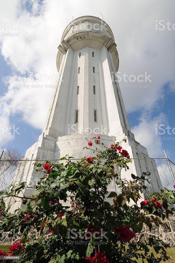 Nassau Water Tower royalty-free stock photo