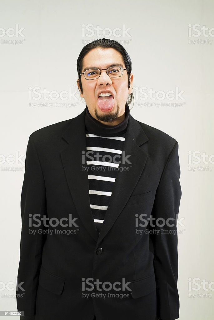 Nasty royalty-free stock photo