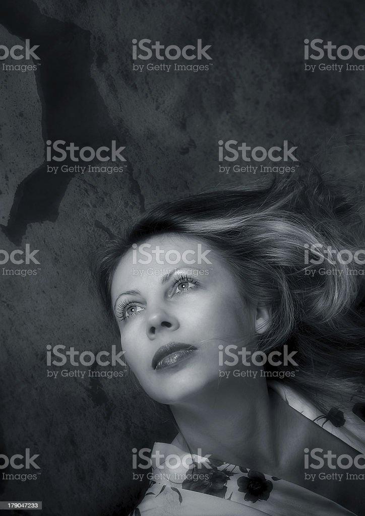 Natalia's portrait royalty-free stock photo