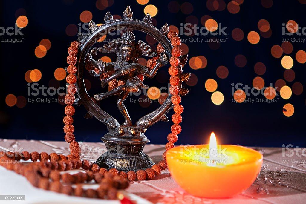 Nataraja Hinduism symbol royalty-free stock photo